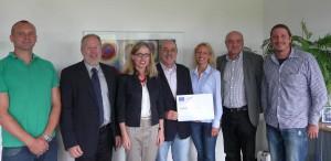 Das Giessener Team trifft sich am 12. August 2011 zum Projektauftakt