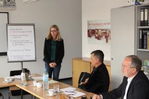 Projektauftakt in Giessen - Inicio del proyecto en Giessen