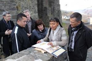 Informationen zur Geschichte Dillenburgs - Informaciónes sobre la historia de Dillenburg
