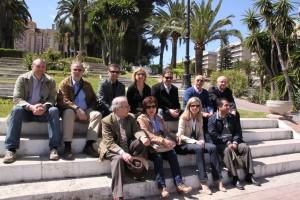Spanische und deutsche Projektteilnehmer
