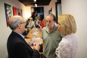 Pausengespräche im Corral de Carbon in Granada