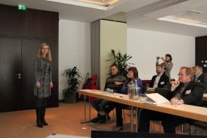 Kerstin Gromes stellt erste Projektergebnisse vor