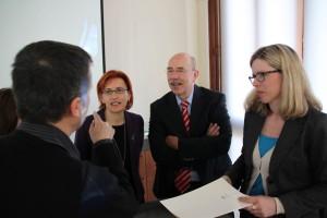 Gespräch mit der Delegada Ana Gamez Tapia